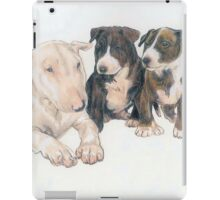 Bull Terrier Puppies iPad Case/Skin