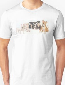 Bull Terrier Puppies T-Shirt