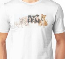 Bull Terrier Puppies Unisex T-Shirt