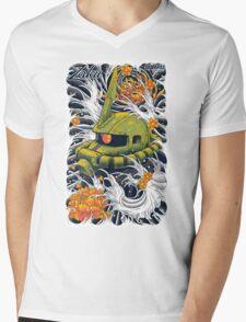 Zaku  Mens V-Neck T-Shirt