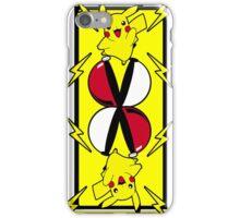 Pika card iPhone Case/Skin