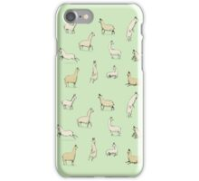 Llamas iPhone Case/Skin