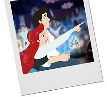 Ariel Discovers its a small world after all by HollieBallard