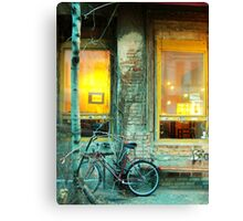 CAFE IN BERLIN Canvas Print