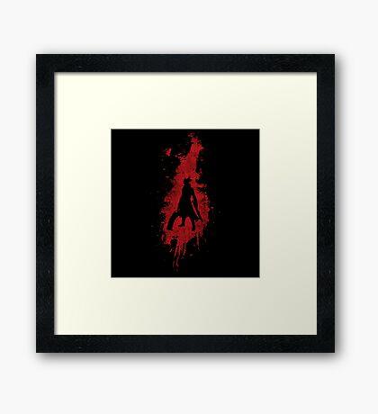 Born in Blood Framed Print