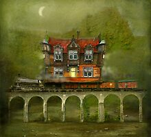 'Railway Station' by Matylda  Konecka Art