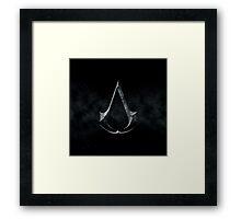 Assassins Creed Dark Stone Framed Print