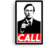 CALL Canvas Print