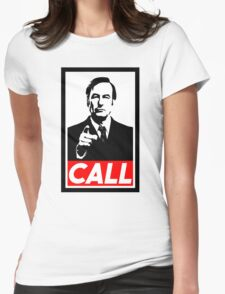 CALL Womens Fitted T-Shirt