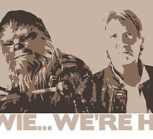 Chewie, We're Home... by gustafa