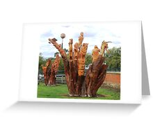 Not Just a Tree Greeting Card