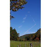 Blue Ridge Sky Photographic Print