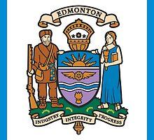 Flag of Edmonton  by abbeyz71