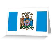 Flag of Edmonton  Greeting Card