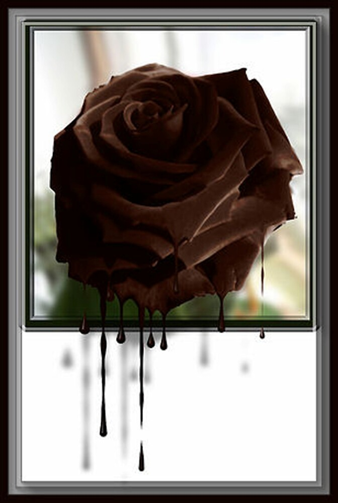 A Rose by Rick Wollschleger