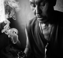 Om Mani Padmi Hum, From the series: A Moment With God by Aditya Swami