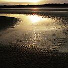silhouette beach by Finbarr Reilly