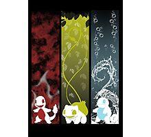 Pokemon Choice Photographic Print