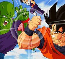 Goku vs Piccolo by Goku-Art