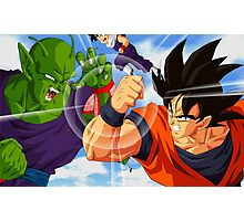 Goku vs Piccolo Photographic Print