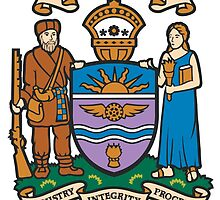 Coat of Arms of Edmonton  by abbeyz71