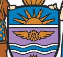 Coat of Arms of Edmonton  Sticker