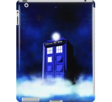Tardis Blue in Cloud iPad Case/Skin