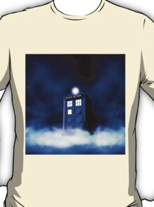 Tardis Blue in Cloud T-Shirt