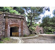 Tunnels, Bateria de Cenizas, Costa Calida, Spain  Photographic Print