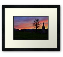 Folly near West Burton Framed Print