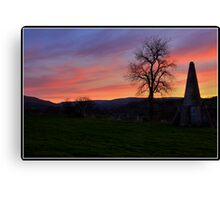 Folly near West Burton Canvas Print