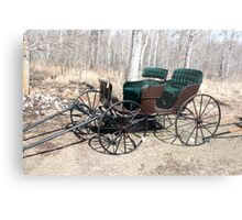 """""""Are You Ready Yet?* Four  Passenger  Pleasure  Buggy  With Velvet Seats Metal Print"""