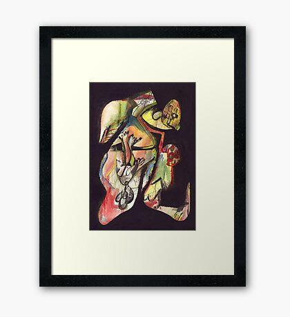 Born Pilgrim Framed Print