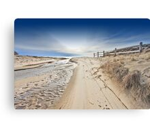 Nauset Indians Beach Canvas Print