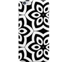 Black Flowes iPhone Case/Skin