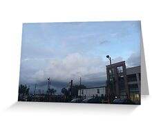 Clouded Greeting Card