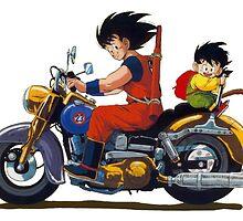 DBZ by Goku-Art