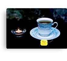 Light Tea  Canvas Print