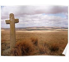 Dartmoor: Crosses Series - Ter Hill (east) Poster