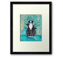 Mother's Day Portrait with Kittens Framed Print