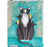 Mother's Day Portrait with Kittens iPad Case/Skin