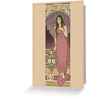 The Fallen Woman Greeting Card