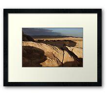 Johnson Valley Framed Print