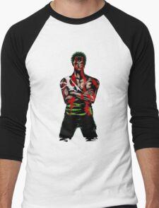 Zoro Tough Men's Baseball ¾ T-Shirt