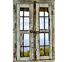 Window, Look Out Tower, Bateria Cenizas, Costa Calida, Spain  Photographic Print