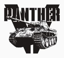 Panther Tank Kids Clothes