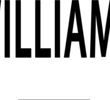 vote williams Sticker