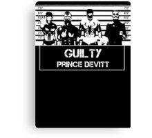 """Finn Balor (Prince Devitt) """"guilty"""" T - Shirt Canvas Print"""