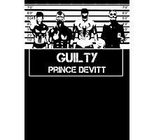 """Finn Balor (Prince Devitt) """"guilty"""" T - Shirt Photographic Print"""