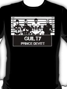 """Finn Balor (Prince Devitt) """"guilty"""" T - Shirt T-Shirt"""